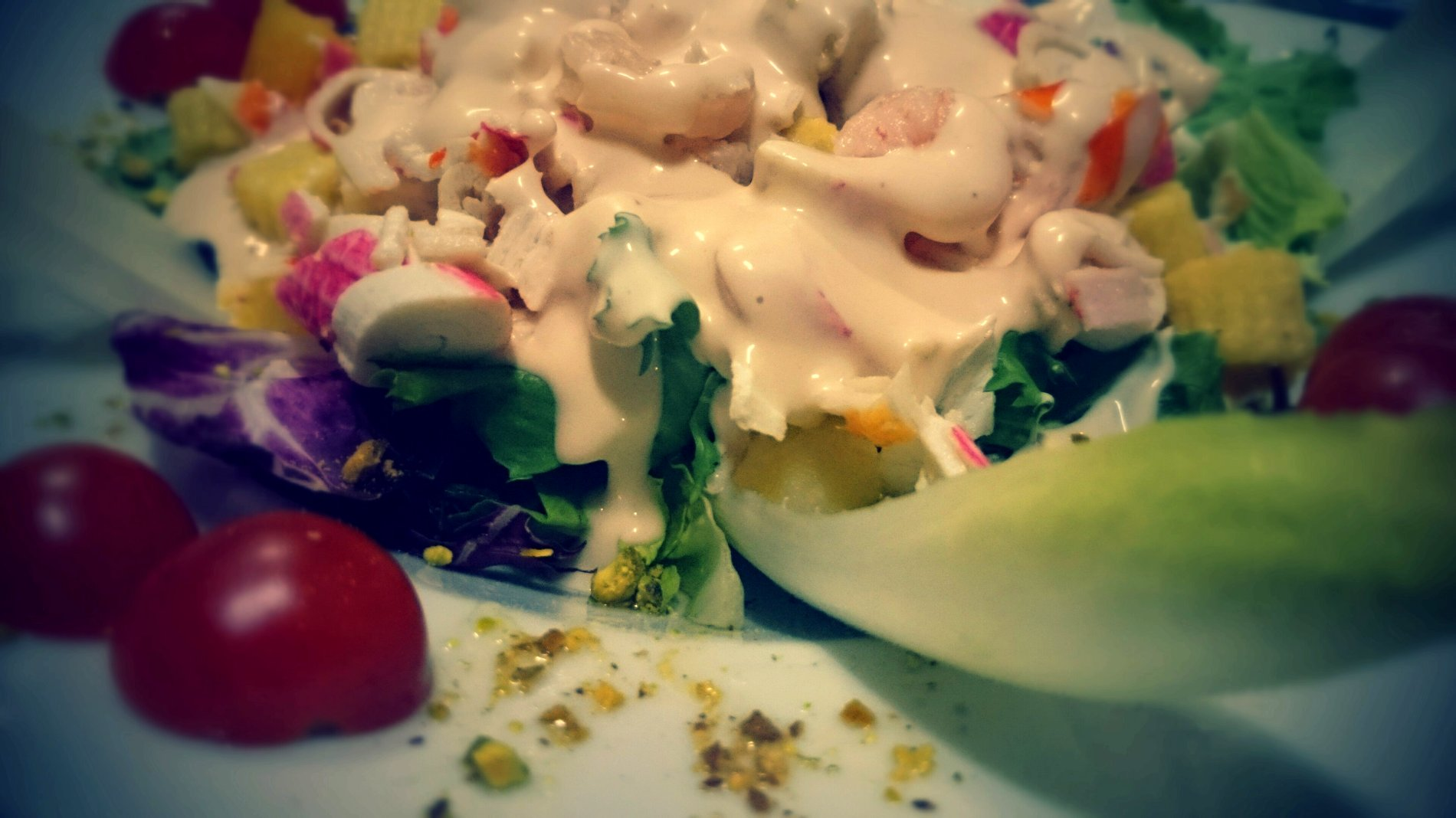 Ensalada Frutos de mar