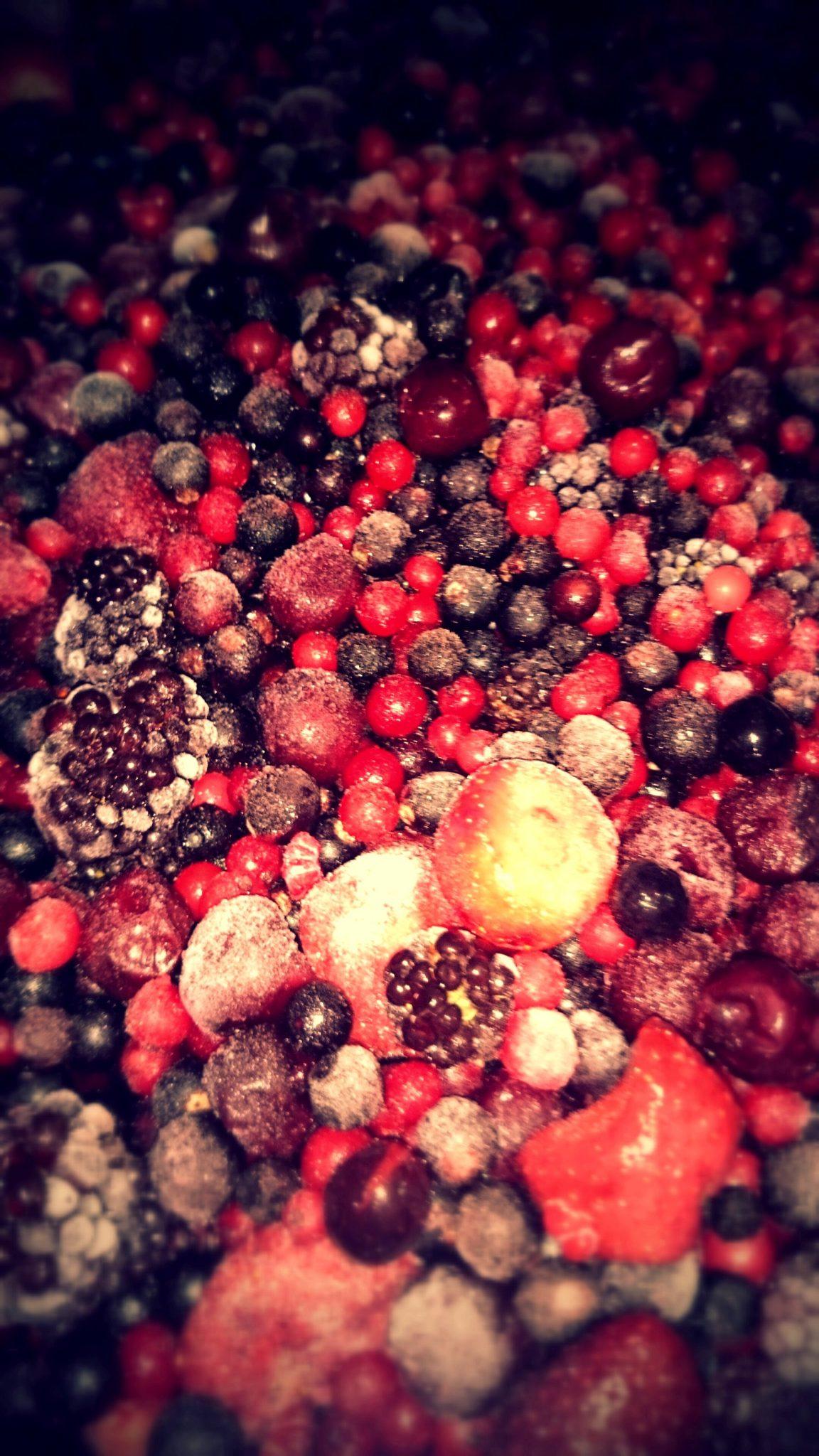 Te gustan los postres… Frutos del Bosque