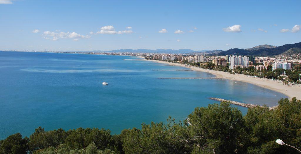 Playa Almadraba Benicàssim. Castellón