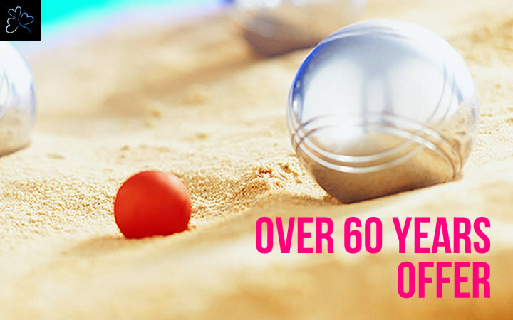 Over 60 Years Offer