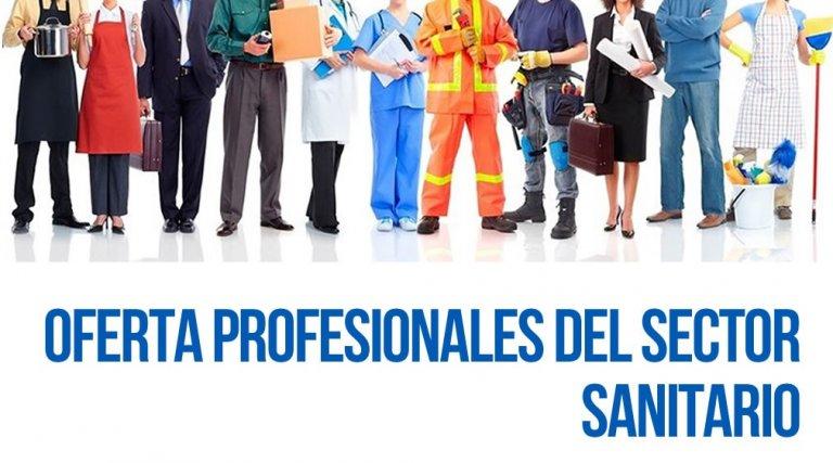 Oferta Profesionales del Sector Sanitario
